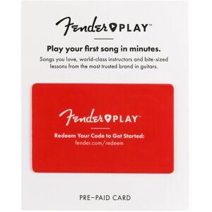 Fender Play 6 Month Prepaid Card - Save 17%!
