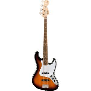Squier Affinity Jazz Bass Brown Sunburst Laurel Fingerboard