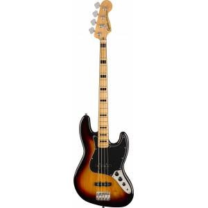 Squier Classic Vibe 70s Jazz Bass 3 Tone Sunburst Maple Fingerboard