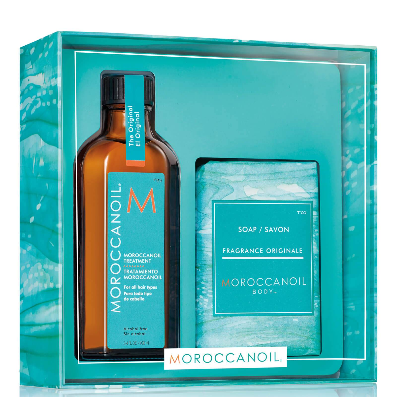 Moroccanoil Simply Beautiful Gift Set - Treatment Original (Worth £45.45)