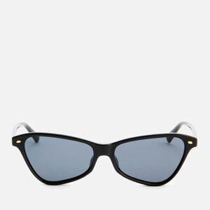 Le Specs Women's Situationship Sunglasses - Black Smoke