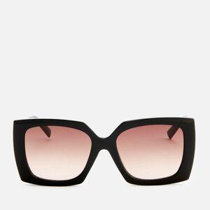 Le Specs Women's Discomania Square Frame Sunglasses - Black/Gold
