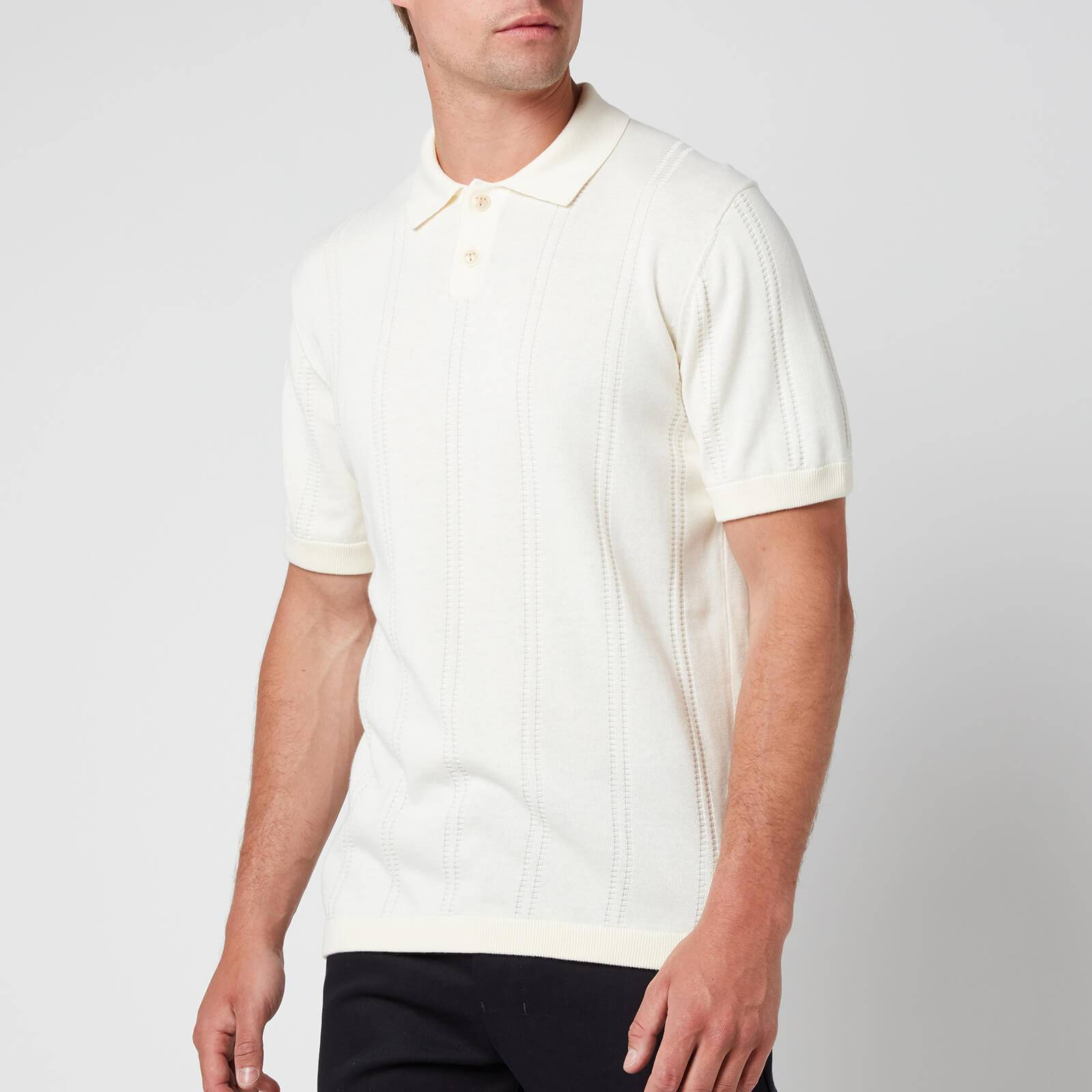 Ted Baker Men's Youfroz Textured Polo Shirt - White - 2/S