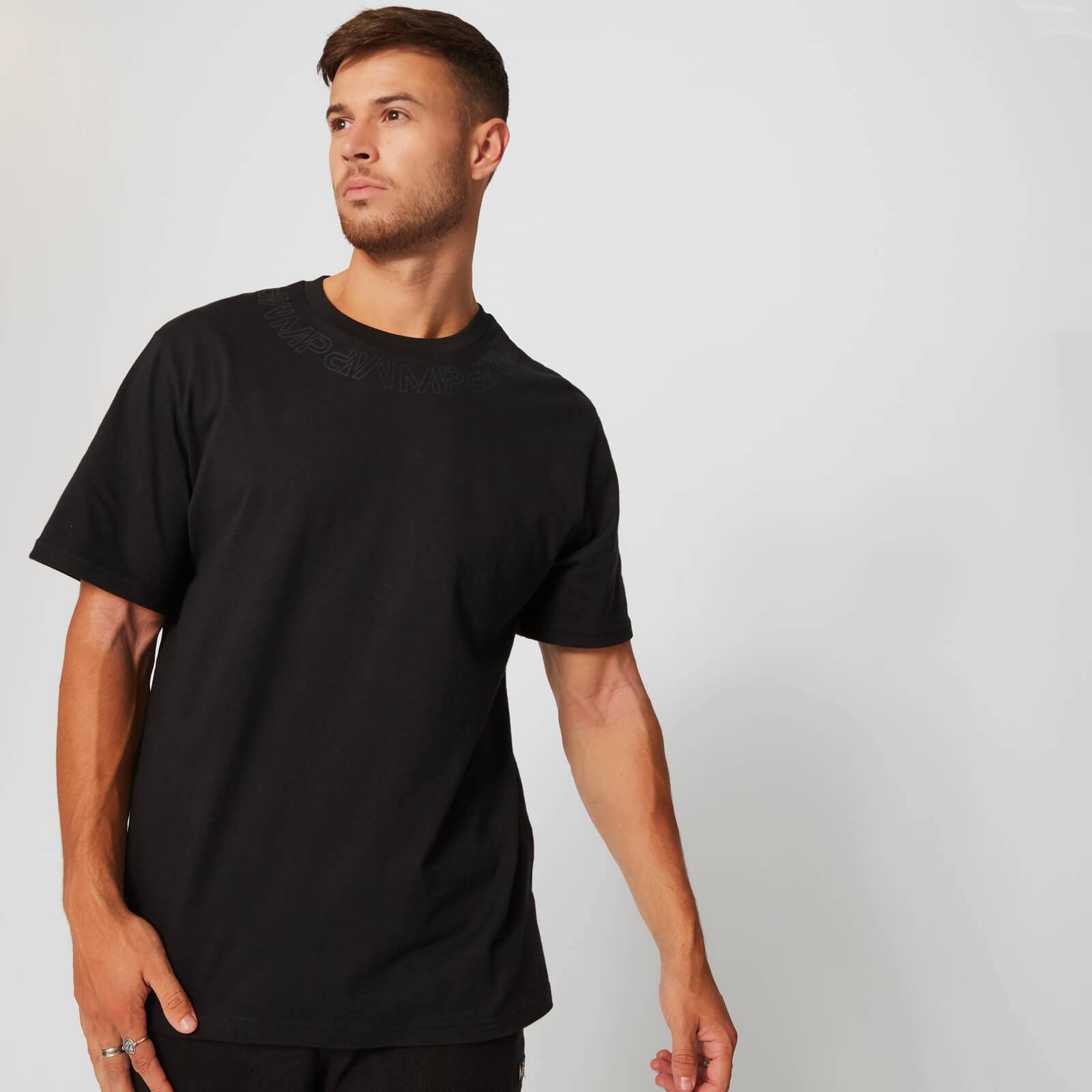 Myprotein MP Neckline Graphic T-Shirt - Black - XL