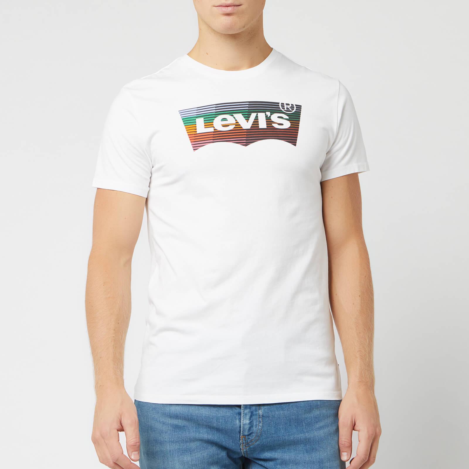 Levi's s Housemark Graphic T-Shirt - White - XL - White