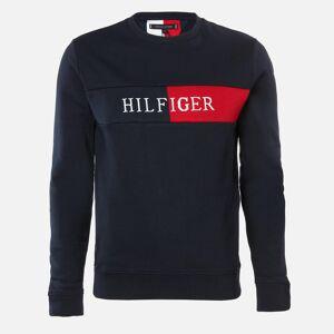 Tommy Hilfiger Men's Intarsia Sweatshirt - Desert Sky - M