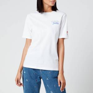 Tommy Jeans Women's Summer Repeat Back T-Shirt - White - XS