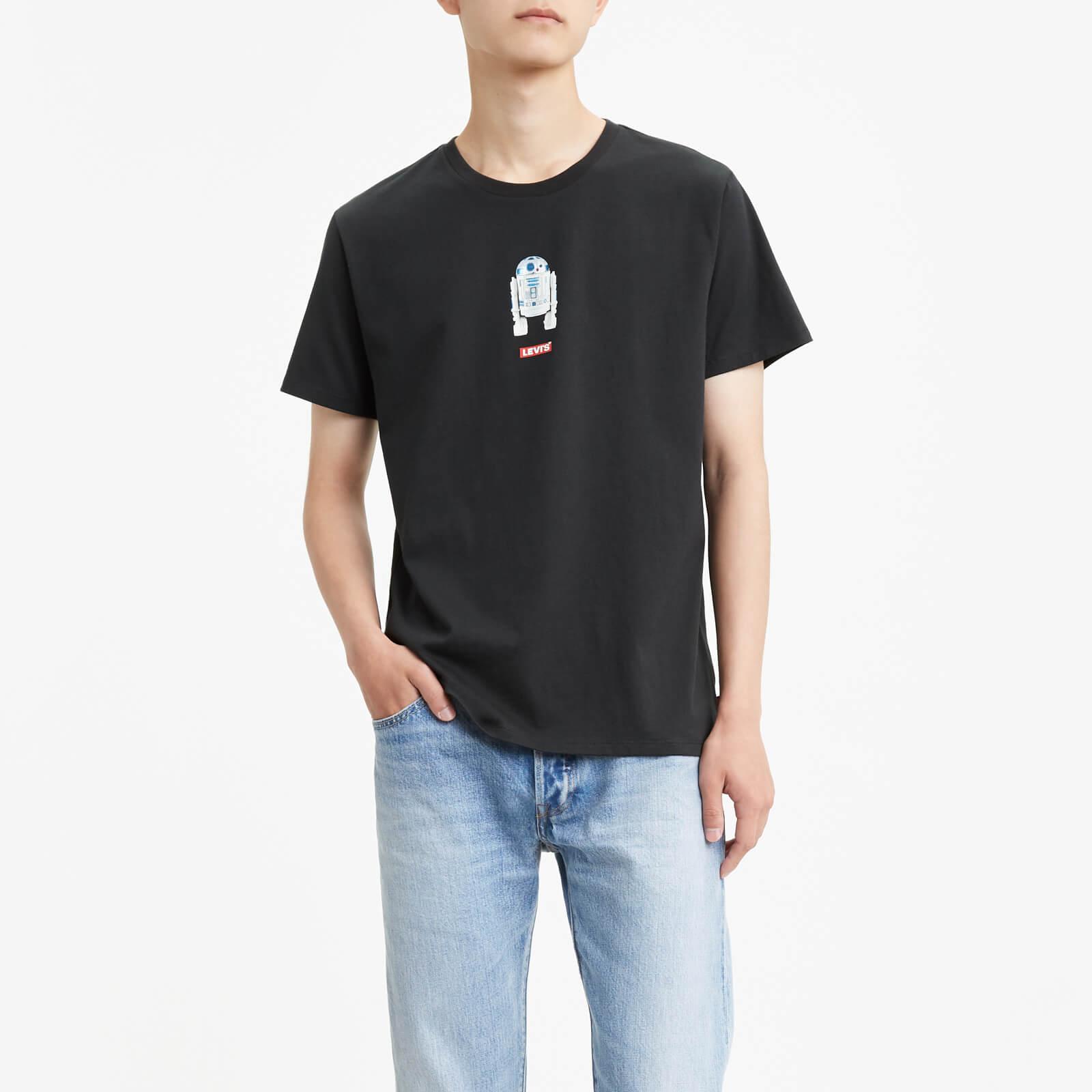 Levi's Star Wars Men's Graphic Short Sleeve T-Shirt - Black - XS