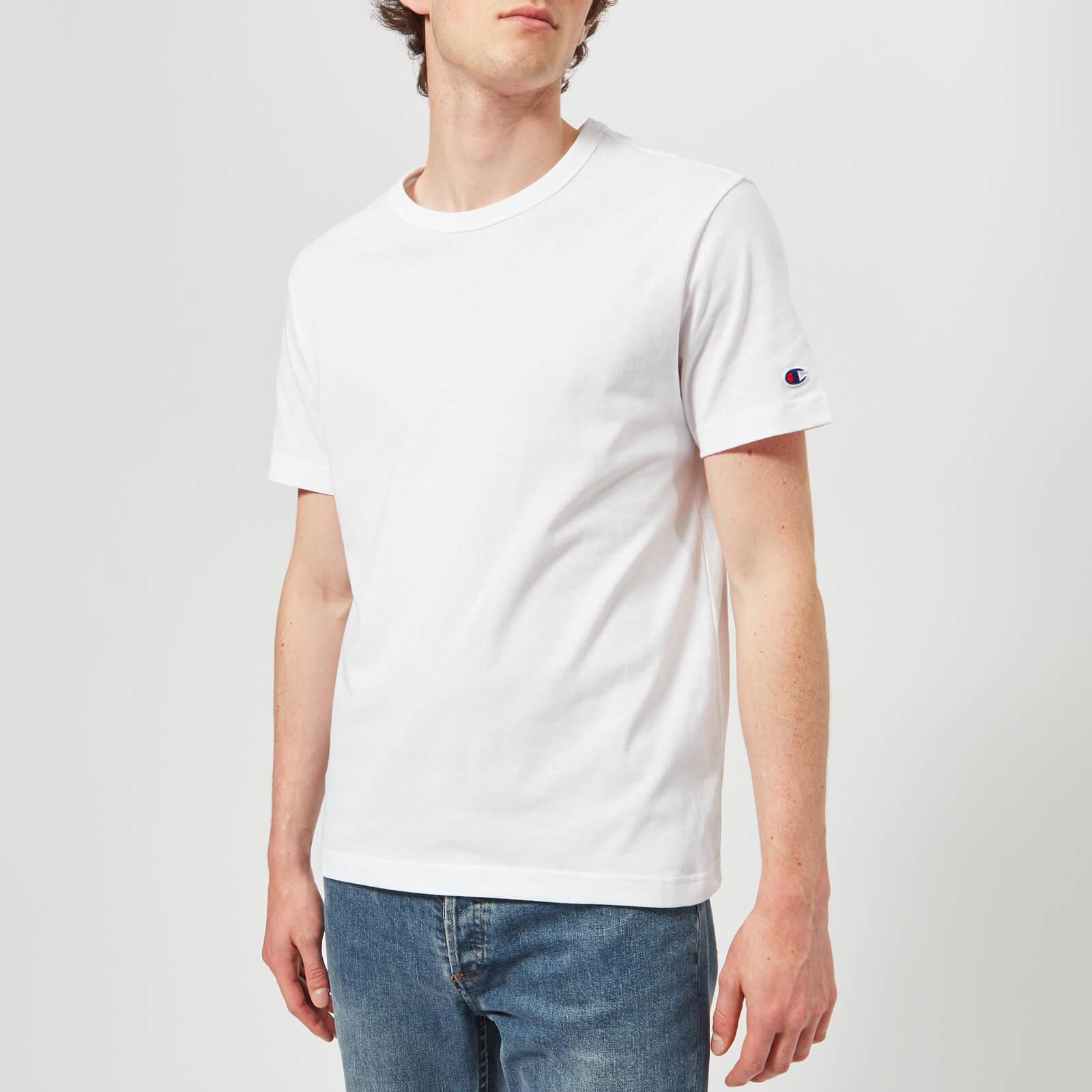 Champion Men's Crew Neck T-Shirt - White - M