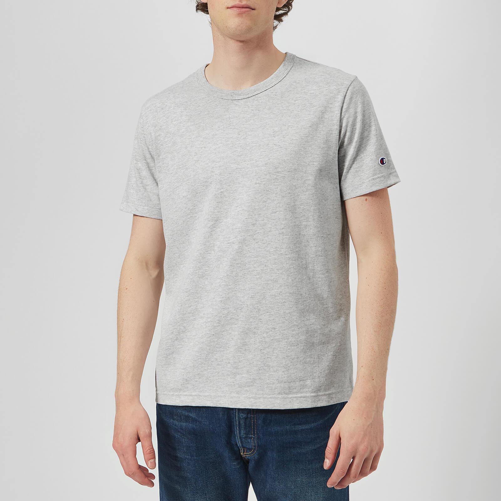 Champion Men's Crew Neck T-Shirt - Grey - XS