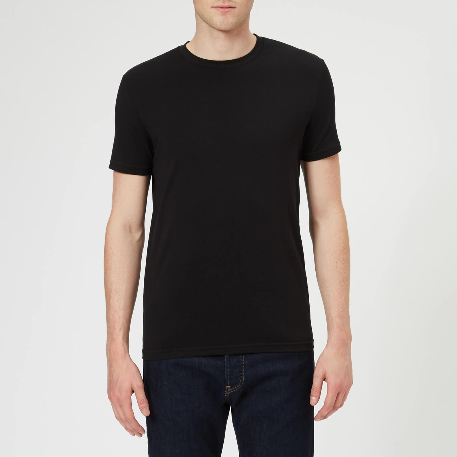 Dsquared2 Men's Twin Pack Crew Neck T-Shirt - Black - XXL - Black