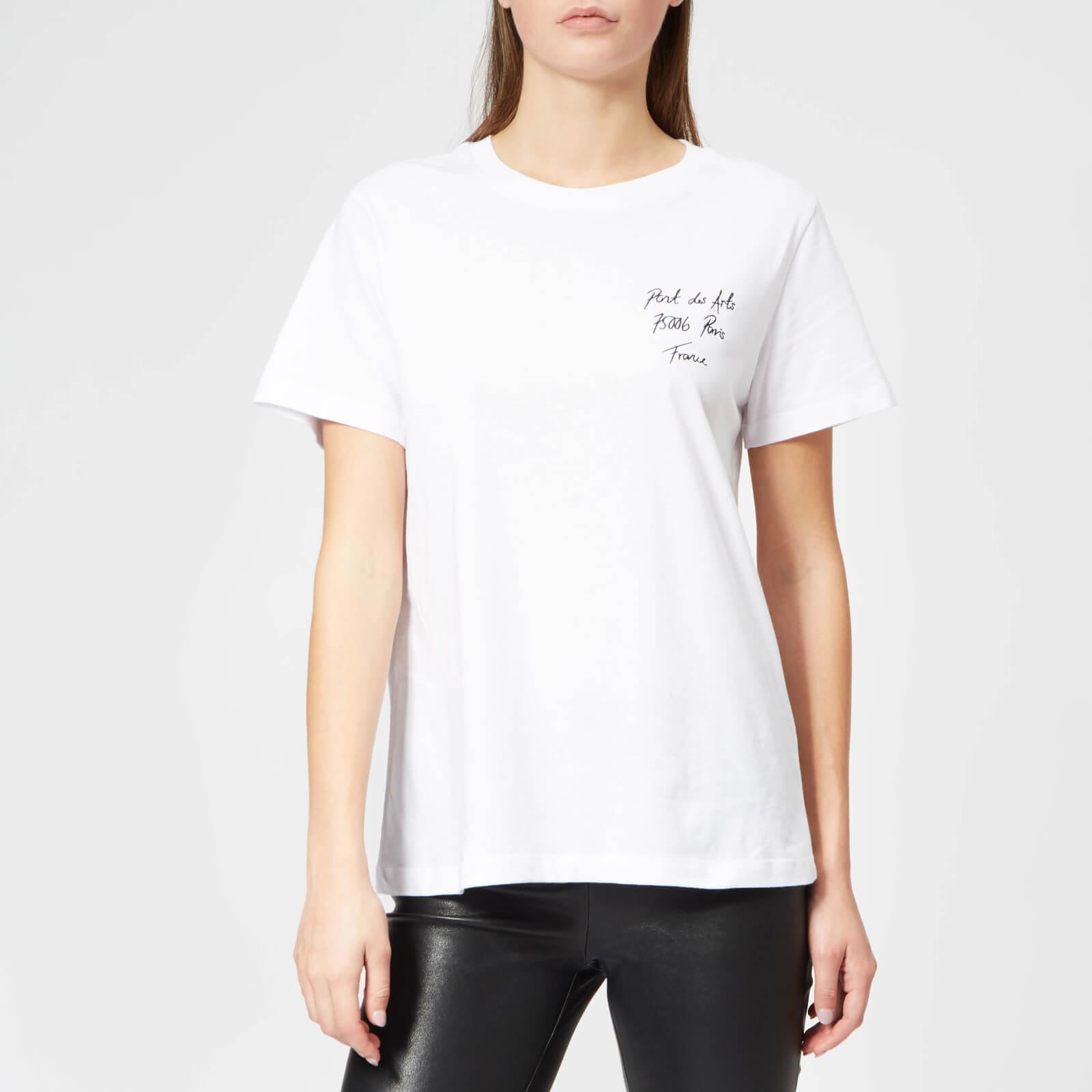 Gestuz Women's Arts T-Shirt - White - S - White