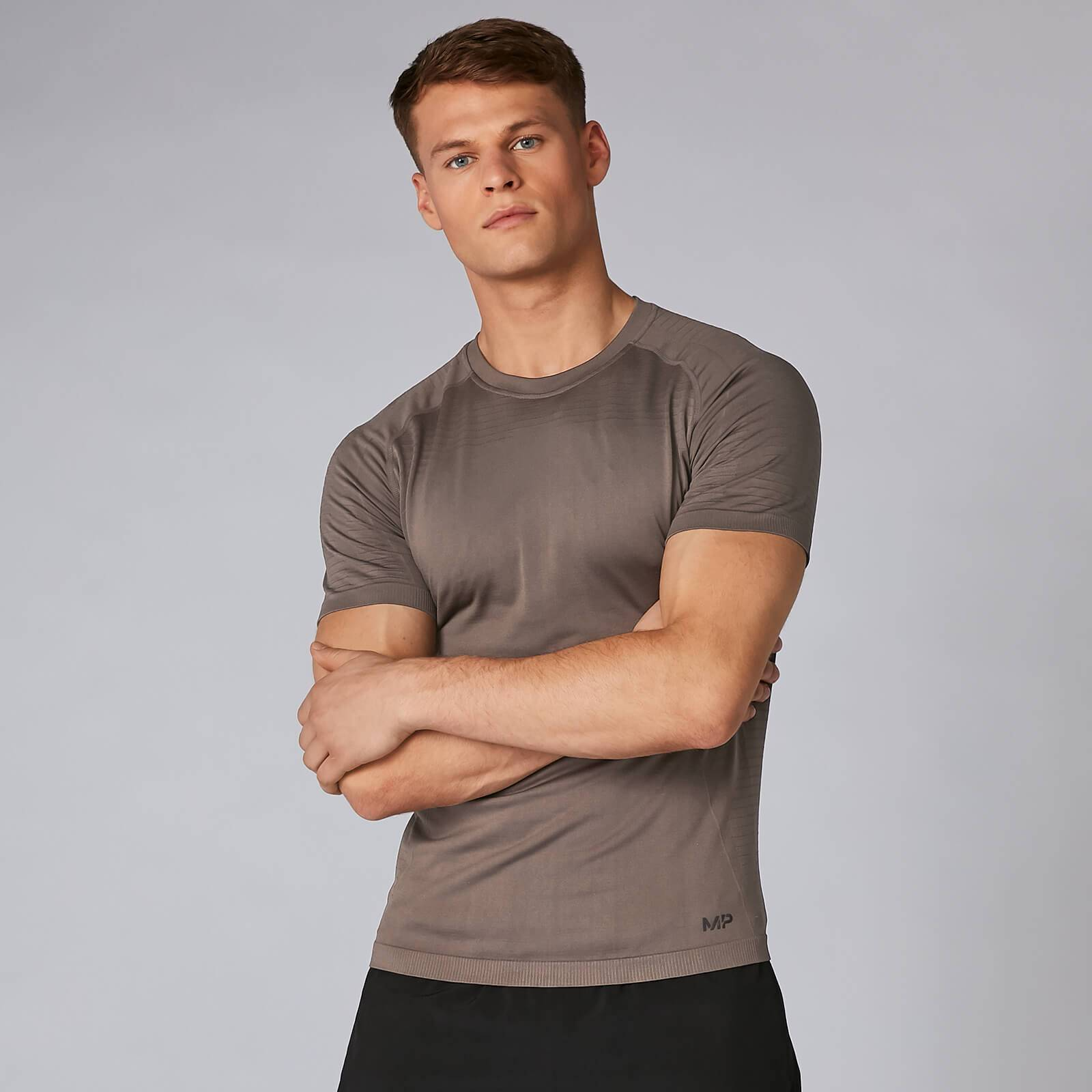Myprotein MP Elite Seamless T-Shirt - Driftwood - S