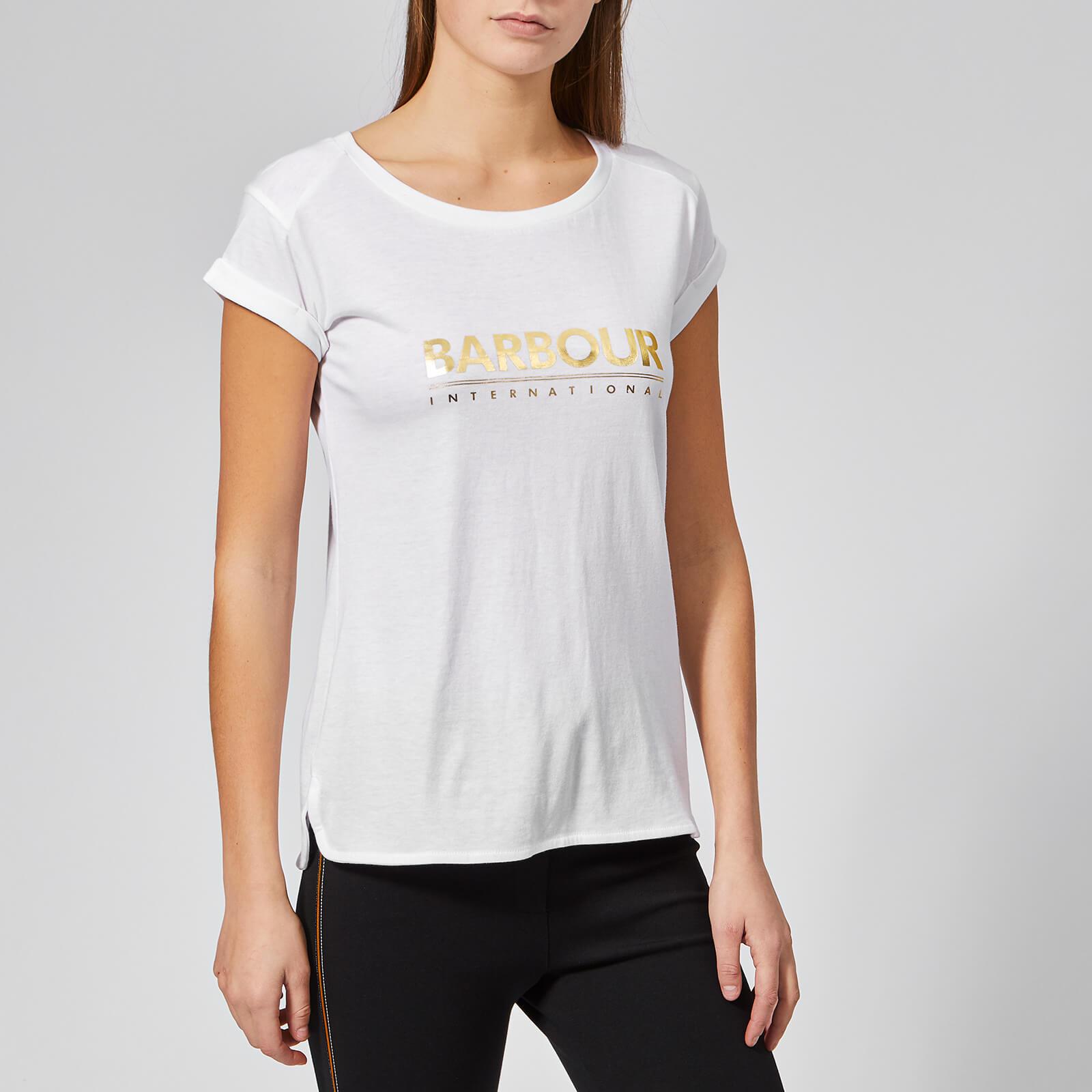 Barbour International Women's Court T-Shirt - White - UK 10 - White