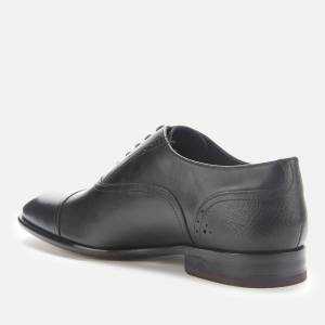 Ted Baker Men's Circass Leather Toe Cap Oxford Shoes - Black - UK 8