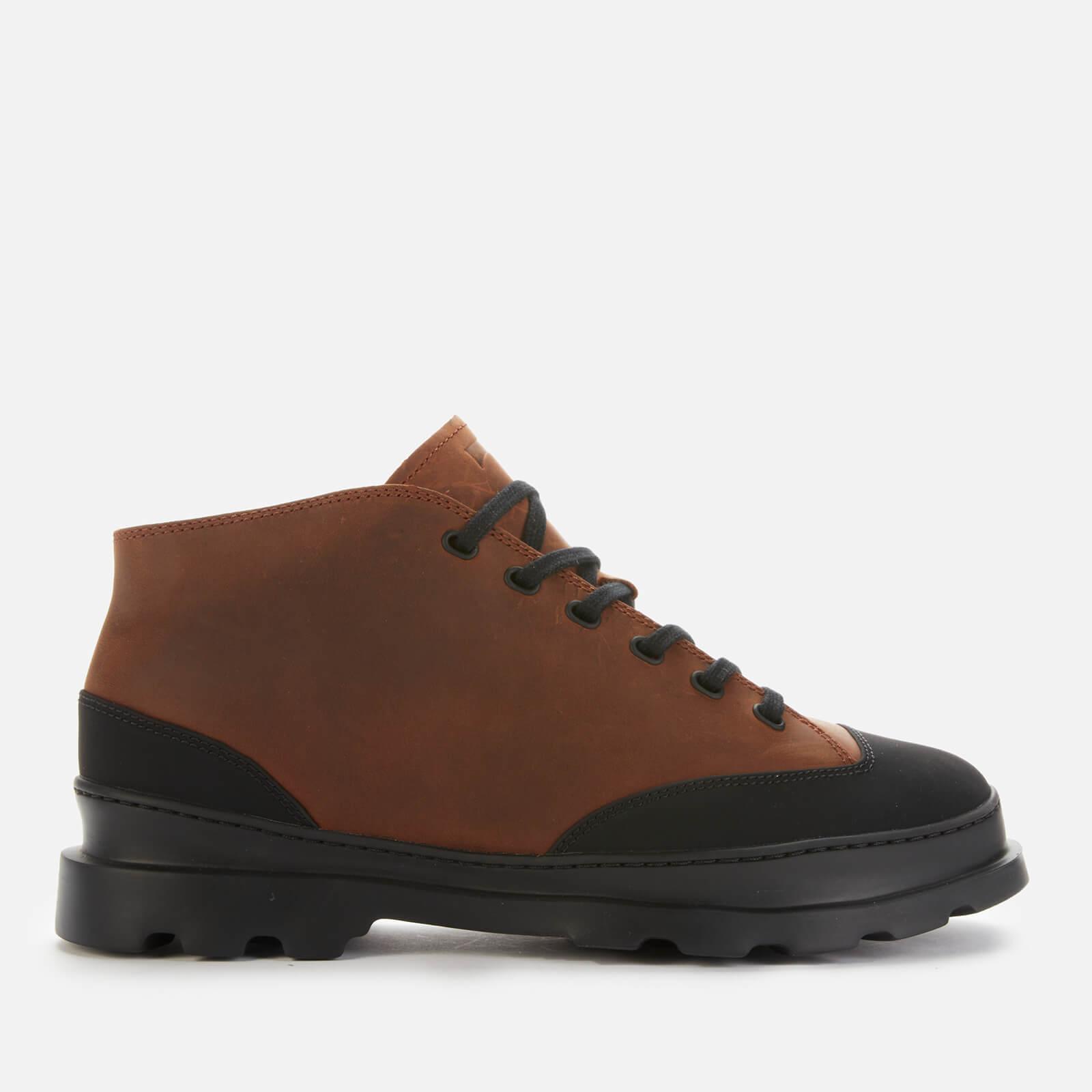 Camper Men's Brutus Ankle Boots - Medium Brown - UK 7