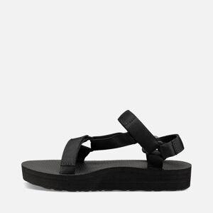 Teva Women's Midform Universal Sandals - Black - UK 3 - Black