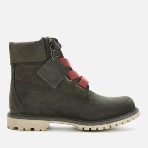 Timberland Women's 6 Inch Premium Convenience Boots - Dark Green Nubuck - UK 3
