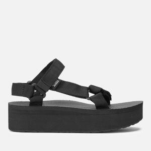 Teva Women's Universal Flatform Sandals - Black - UK 5