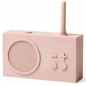 Lexon TYKHO 3 FM Radio and Bluetooth Speaker - Pink