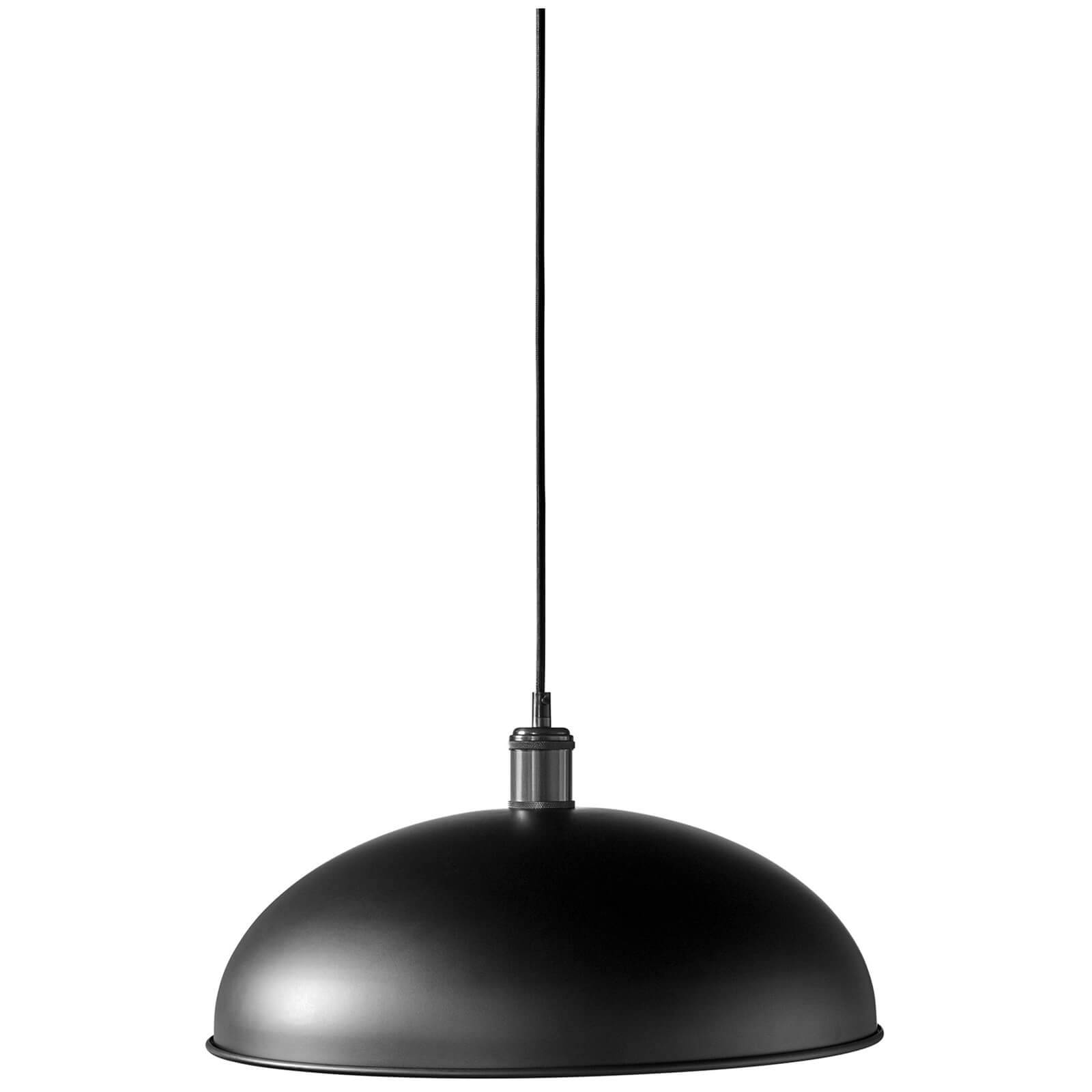 Menu Hubert Pendant - Black Bronzed Brass - 45cm