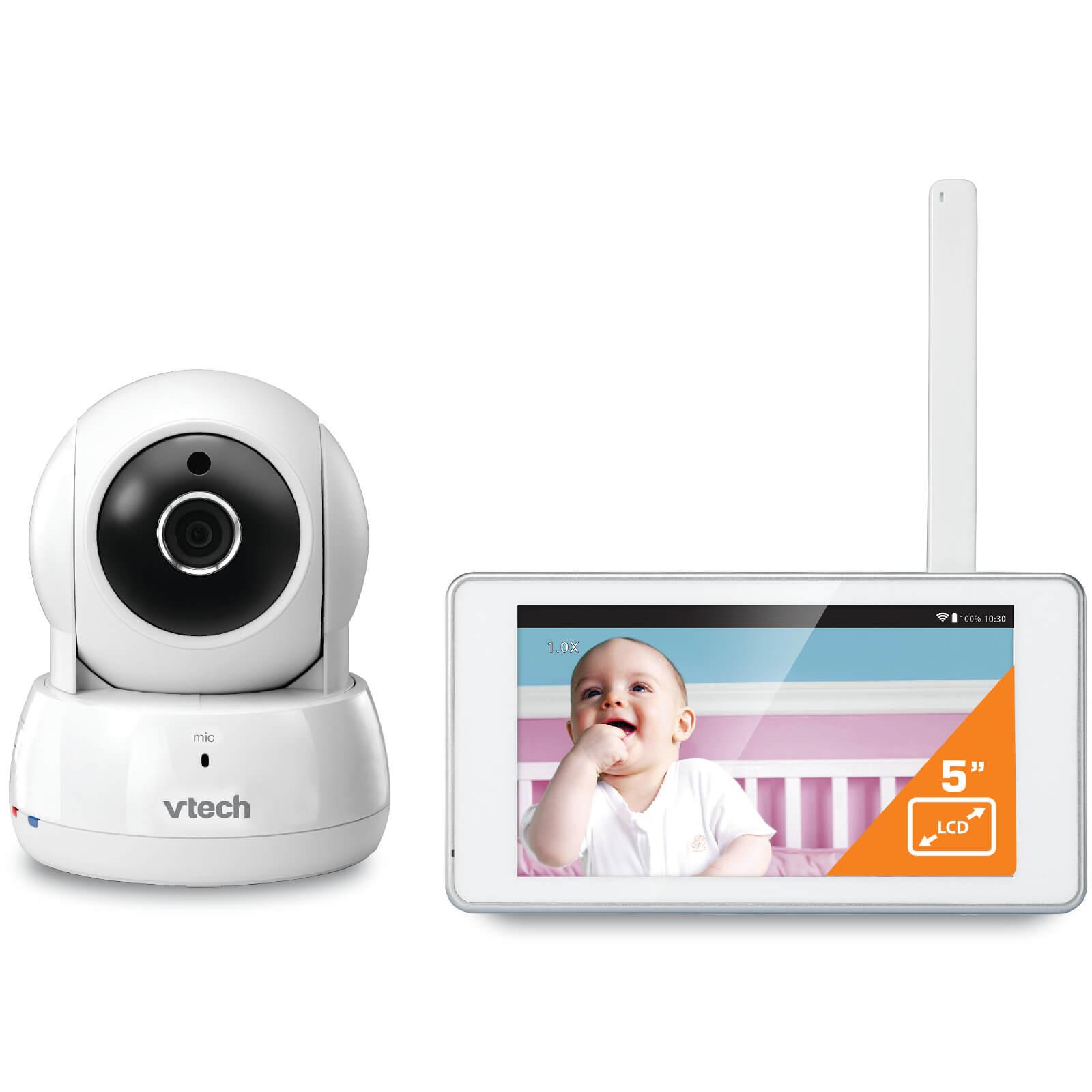 Vtech Safe & Sound 5  Tablet Video Baby Monitor - BM6000