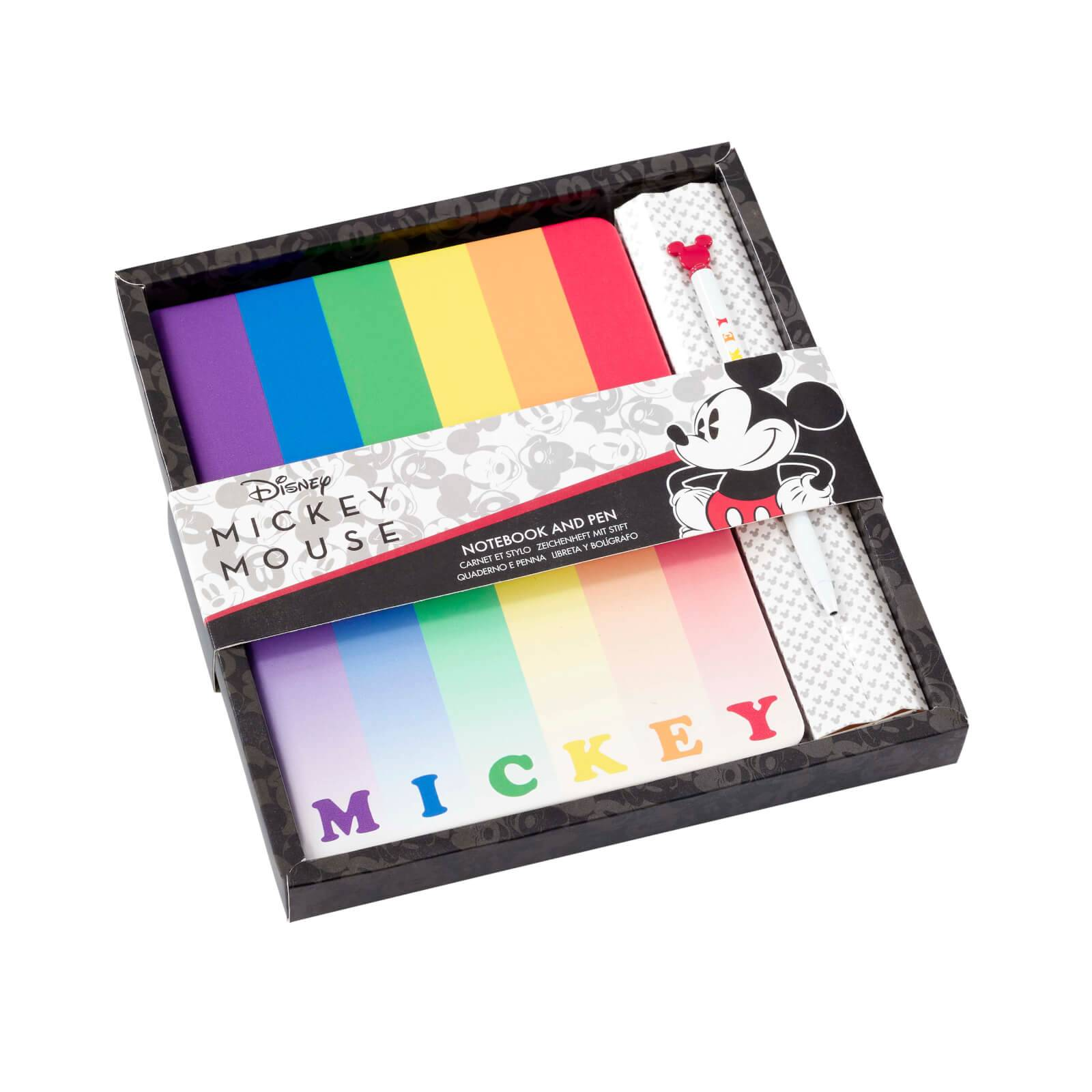 Funko Homeware Mickey Rainbow Notebook