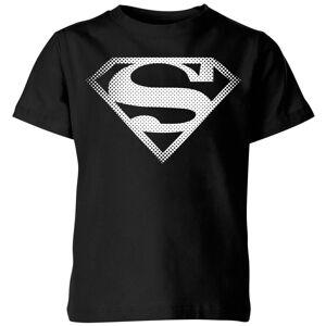 DC Comics DC Originals Superman Spot Logo Kids' T-Shirt - Black - 3-4 Years - Black