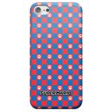 Nintendo Super Mario Checkerboard Pattern Phone Case - iPhone 5C - Snap Case - Matte