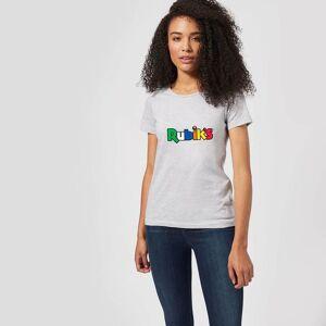 Rubik's Core Logo Women's T-Shirt - Grey - S - Grey