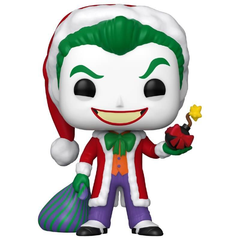 Pop! Vinyl DC Comics Holiday Santa Joker Funko Pop! Vinyl