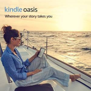 "Amazon Kindle Oasis E-reader - Graphite, Waterproof, 7"" High-Resolution Display (300 pp"