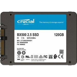 Crucial BX500 CT120BX500SSD1 120 GB Internal SSD (3D NAND, SATA, 2.5 Inch)