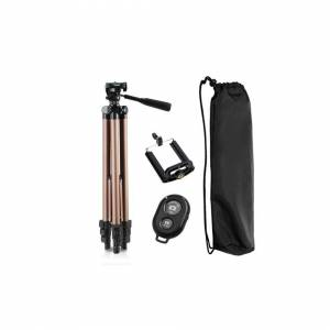 BoomSave tripod for phone with remote control holder stand tripod for phone bluetooth and