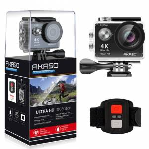 AKASO EK7000 4K Sport Action Camera Ultra HD Camcorder 12MP  Black