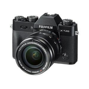 Fuji X-T20 With XF 18-55 Lens - Black   Mirrorless Camera