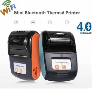 WT Wireless Bluetooth Thermal Receipt Mobile Printer for Android Phone