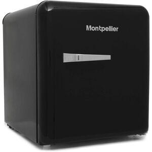 MONTPELLIER (Black ) Montpellier MAB50C 1950's Retro Mini Fridge   Energy Rating F