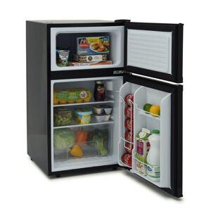 Iceking IK2023K 48cm Under Counter Fridge Freezer A+ Energy Rating – Black