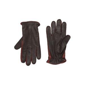 CANALI Gloves Man Gloves Man  - Dark brown - Size: Medium