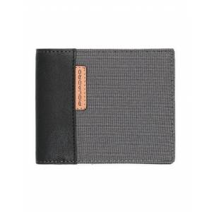 PIQUADRO Wallet Man - Steel grey - --