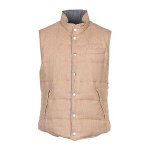 BRUNELLO CUCINELLI Down jacket Man - Sand - M,XXL