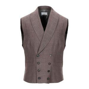 BRUNELLO CUCINELLI Waistcoat Man - Cocoa - 38,40,42
