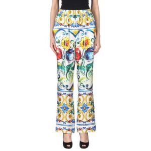Dolce & Gabbana Casual trouser Women Casual trouser Women  - White - Size: 4