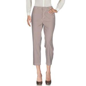 MAURO GRIFONI Casual trouser Women - Light brown - 6