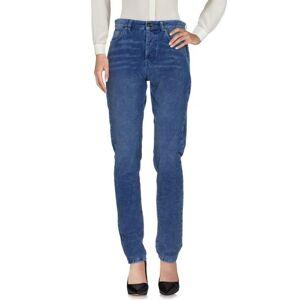 SAINT LAURENT Casual trouser Women - Azure - 24,25