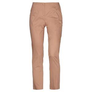 BLUE LES COPAINS Casual trouser Women - Brown - 18