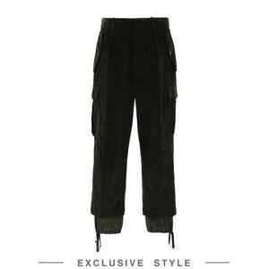 JW ANDERSON x YOOX Casual trouser Women - Dark green - 10,12,14,6,8
