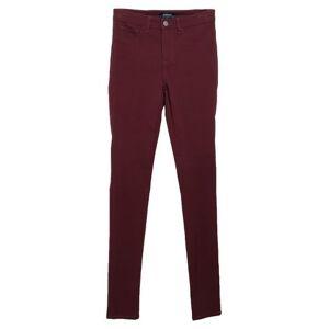 PIECES Casual trouser Women - Maroon - L,M