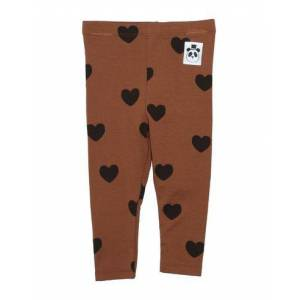 MINI RODINI Leggings Girl 0-24 months - Brown - 12,18